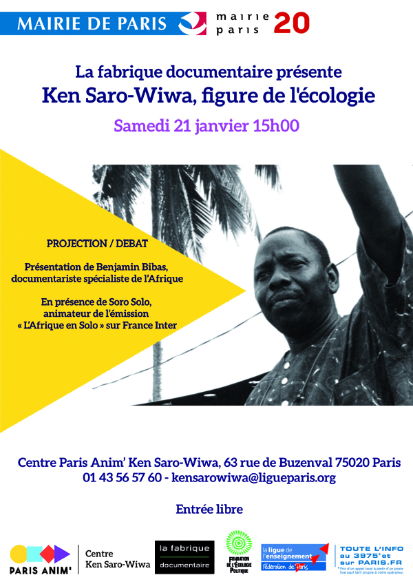 Ken Saro-Wiwa, figure de l'écologie