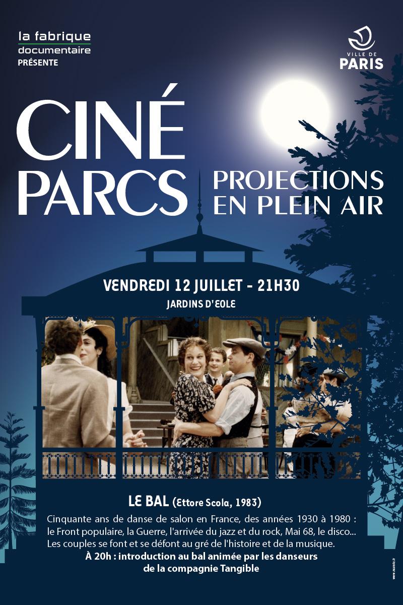 Ciné-Parcs - 12 juillet 2019