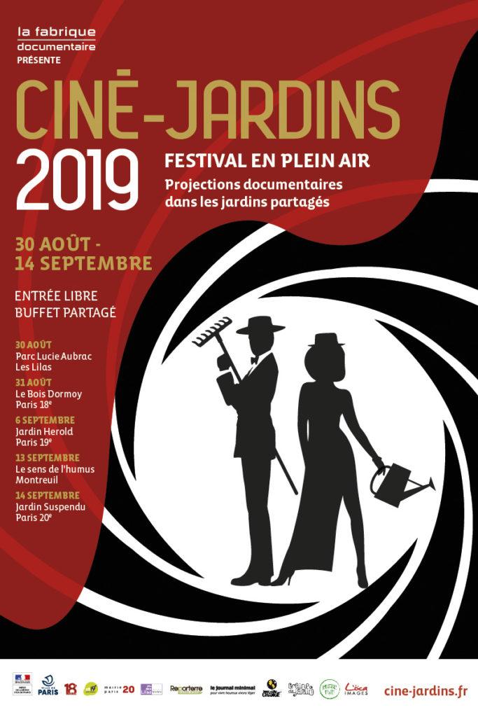 Affiche Ciné-Jardins 2019